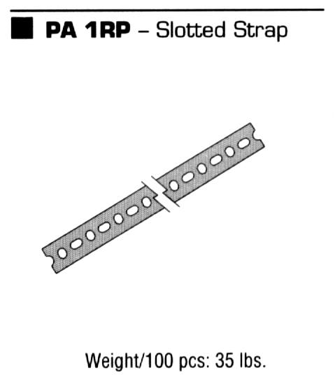 Slotted Strap