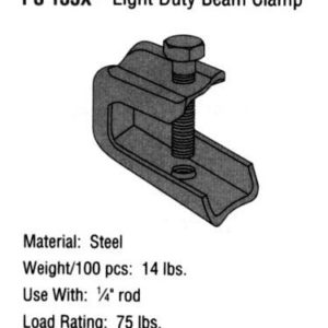 Light Duty Beam Clamp