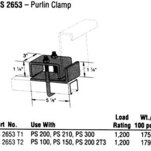 Purlin Clamp