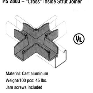 Cross Inside Strut Joiner