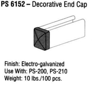 Decorative End Cap