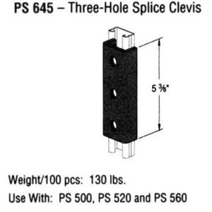Three-Hole Splice Clevis