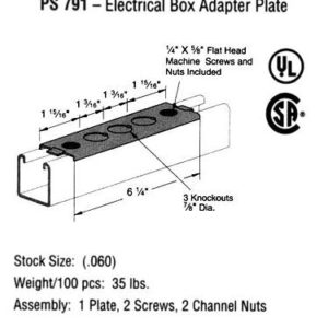 Electrical Box Adapter Plate