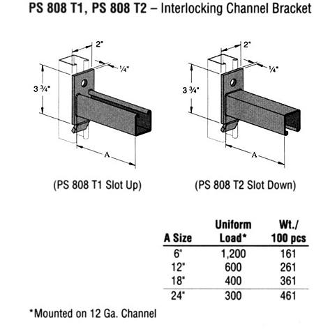 Interlocking Channel Bracket