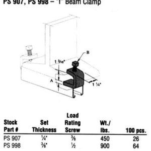 I Beam Clamp