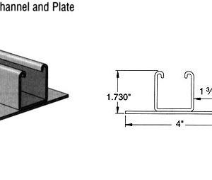 Welded Steel Channel and Plate