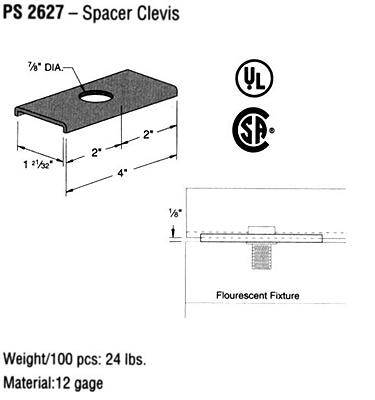 Spacer Clevis