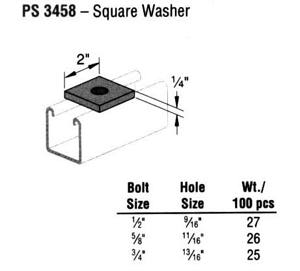 Square Washer