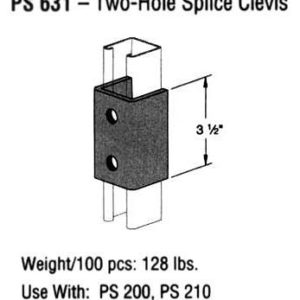 Two-Hole Splice Clevis