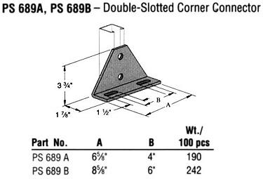Double-Slotted Corner Connector