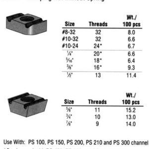Clamping Nut without Spring